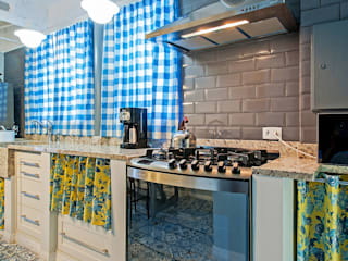 APARTAMENTO FO Cozinhas rústicas por Studio Boscardin.Corsi Arquitetura Rústico