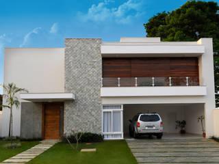 Cabral Arquitetura Ltda. Modern houses