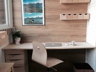 Zona de trabajo: Terrazas de estilo  de BOOMHUT INTERIORISMO