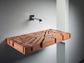 Tablette vasque bois:  de style  par Art D.D.C