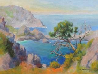 Wilde Küste Mallorcas von tstellma Rustikal