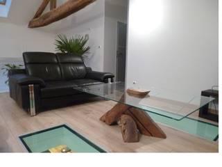 Table basse design par Artisa Meubles Éclectique