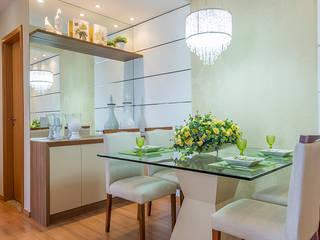 Eveline Maciel - Arquitetura e Interiores:  tarz Yemek Odası