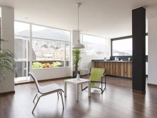 Salas de estilo moderno de ODA - Oficina de Diseño y Arquitectura Moderno