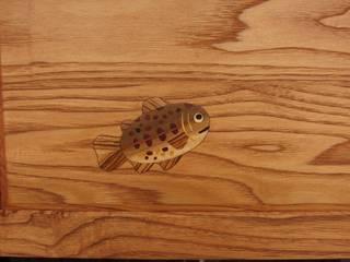 ポスト~木象嵌入~: 二輪草家具が手掛けた折衷的なです。,オリジナル