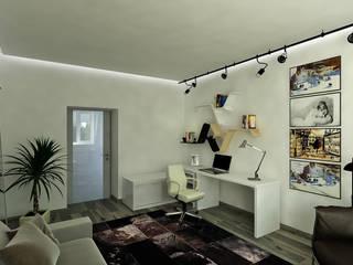 Комната в Академгородке: Рабочие кабинеты в . Автор – Хауспрофи