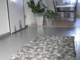 Filzsteinteppich Schurwolle:   von flussdesign