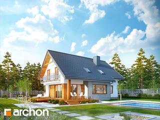 Projekt domu ARCHON+ Dom w aurorach od ARCHON+ PROJEKTY DOMÓW