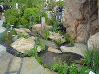 MM NATURSTEIN GMBH Jardines de estilo clásico Piedra