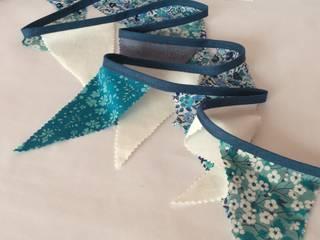 Guirlande fanions Liberty bleu:  de style  par Les Fillottes