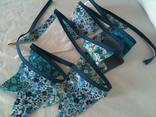 Guirlande fanions tissu Liberty:  de style  par Les Fillottes