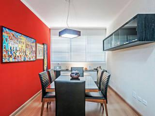 Dining room by Patrícia Azoni Arquitetura + Arte & Design, Tropical
