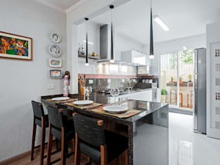 Cocinas de estilo  por Patrícia Azoni Arquitetura + Arte & Design,