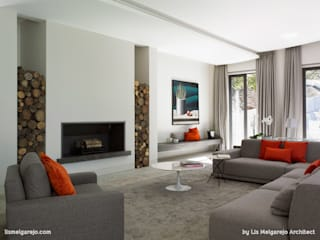 Modern living room by Lis Melgarejo Arquitectura Modern