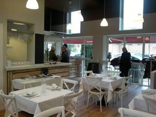 Restaurante Gabi Garcia Gastronomía de estilo moderno de Cienfuegos y Martinez. Arquitectos Moderno