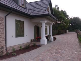 Ogród w stylu wiejskim pod Lublinem Wiejski ogród od BioArt Ogrody, Architektura Krajobrazu Wiejski