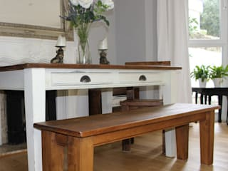 Provence Painted Dining Table:   by Modish Living
