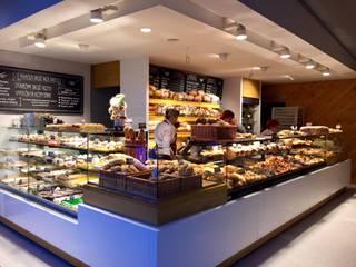 Wyposażenie sklepu piekarniczego: styl , w kategorii  zaprojektowany przez BenLER Kompleksowe Wyposażenie Gastronomii