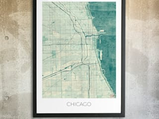 Chicago poster.: classic  by cityartposters, Classic
