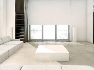 Salas de estilo  por PROSTO architekci