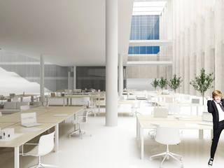 Edificios de oficinas de estilo  por PROSTO architekci