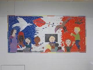 Décor en mosaïque Ecoles originales par Artothem Éclectique