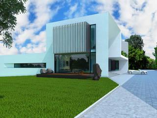 Portalhaus Дома в стиле минимализм от ALEXANDER ZHIDKOV ARCHITECT Минимализм