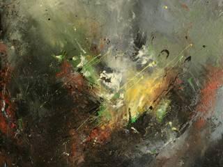 L'espace coloré:  de style  par Roseline Al oumami, artiste cotée