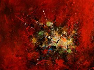 Eclats II:  de style  par Roseline Al oumami, artiste cotée