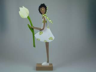 Weiße Tulpe:   von mw-holzkunst