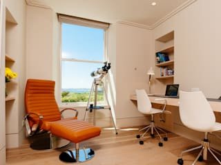 Ednovean House, Perranuthnoe | Cornwall : modern Study/office by Perfect Stays