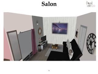 Studio à aménager:  de style  par L'Oeil DeCo
