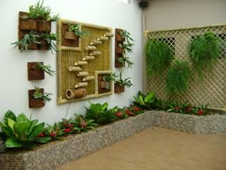 MC3 Arquitetura . Paisagismo . Interiores의  실내 정원
