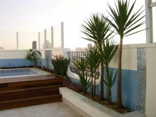 Сад в стиле минимализм от MC3 Arquitetura . Paisagismo . Interiores Минимализм