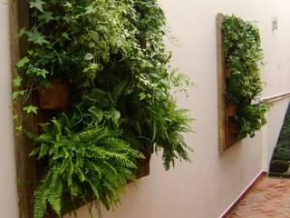 MC3 Arquitetura . Paisagismo . Interiores Rustic style gardens
