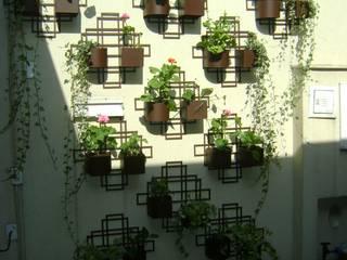 MC3 Arquitetura . Paisagismo . Interiores Eclectic style gardens