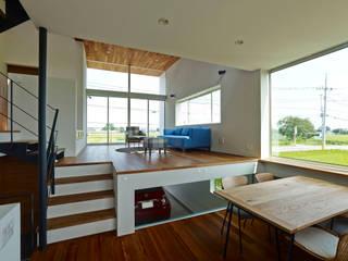 小野里信建築アトリエ Modern living room