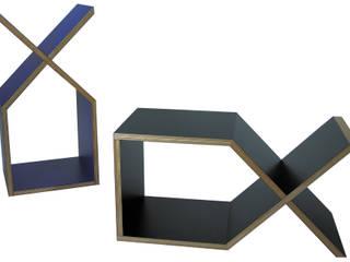 DX abode Co., Ltd. Living roomShelves