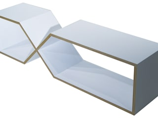 DXDX abode Co., Ltd. Living roomShelves