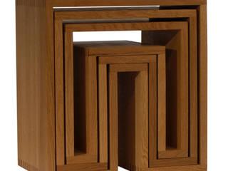 SHOJI - Nesting Tables abode Co., Ltd. Living roomShelves