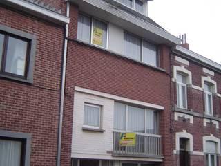 Rénovation d'une habitation à Namur par Bureau d'Architectes Desmedt Purnelle Moderne