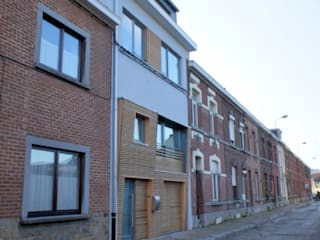 Rénovation d'une habitation à Namur Maisons modernes par Bureau d'Architectes Desmedt Purnelle Moderne