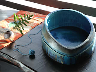 水盤: Shiho 【ソラSea土】が手掛けた折衷的なです。,オリジナル