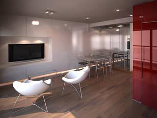 Phòng khách phong cách tối giản bởi ARQUITECTURA EN IMÁGENES Tối giản