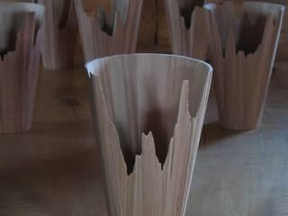 花器 へぎ目: 清水桶屋が手掛けたアジア人です。,和風