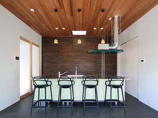 House-MSD【 White Rainbow -白虹- 】 モダンな キッチン の bound-design モダン