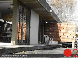 Modern Houses by punto2 Modern