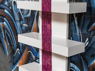 Console Purple Rain par Cercus Marqueterie Moderne
