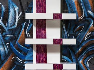 Console Purple Rain par Cercus Marqueterie Minimaliste
