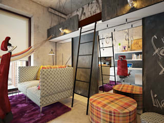 Kinderzimmer von Интерьеры от Марии Абрамовой, Industrial